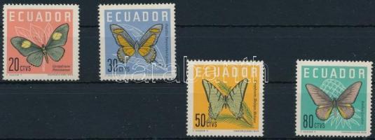 1961 Forgalmi, pillangó sor Mi 1070-1073