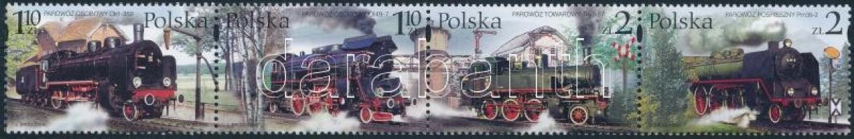 Locomotive stripe of 4 Mozdony 4-es csík