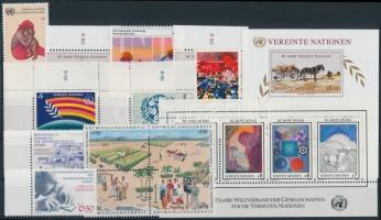 1985-1986 13 stamps + 2 blocks, 1985-1986 13 klf bélyeg + 2 klf blokk