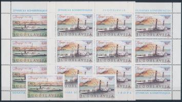 1979 Europa 31. Duna- Konferencia (Belgrád,1948) sor + kisívsor Mi 1816-1817