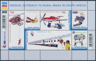 Medical care in rural areas mini sheet Orvosi ellátás vidéken kisív