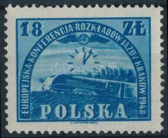 European Rail Conference, Krakow stamp Európai vasúti konferencia, Krakkó bélyeg