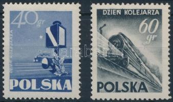 1954 Vasút sor Mi 868-869 C