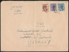 ~1960 Levél Hivatalos bérmentesítéssel Németországba ~1960 Cover with Official franking to Germany