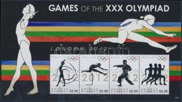 Olympia minisheet Olimpia kisív