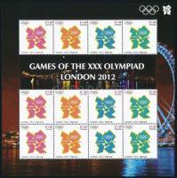 Summer Olympics mini sheet Nyári olimpia kisív