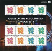 Summer Olympics minisheet Nyári olimpia kisív