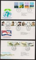 1982-1983 3 FDC, 1982-1983 3 klf FDC