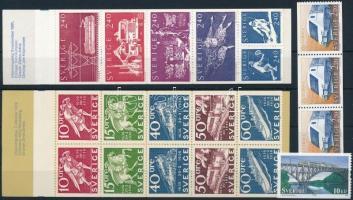 1972-2006 2 stamp-booklets + 4 stamps 1972-2006 2 bélyegfüzet + 4 db önálló érték