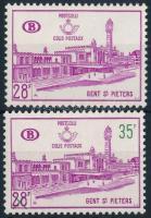 1965-1966 Parcel Stamp + overprint, 1965-1966 Csomagbélyeg + felülnyomott változata