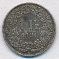 Svájc 1921B 1Fr Ag T:2,2- Switzerland 1921B 1 Franc Ag C:XF,VF