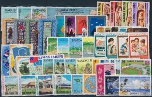 1972-1974 50 stamps 1972-1974 50 db klf bélyeg, közte teljes sorok