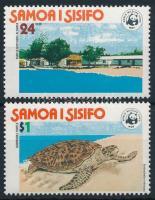 1978 WWF Teknős sor Mi 370-371