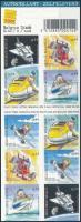 Bélyegkiállítás öntapadós bélyegfüzet Stamp Exhibition self-adhesive stamp-booklet