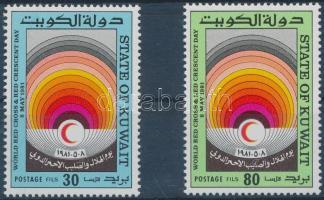 1981 Vöröskereszt sor Mi 889-890
