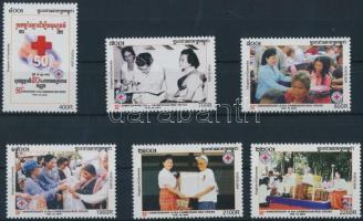 Red Cross set, Vöröskereszt sor Mi 2356-2361