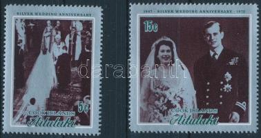 Silver Jubilee of the British royal couple set Az angol király pár ezüstlakodalma sor