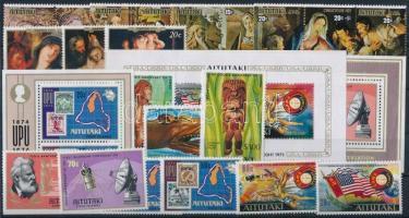 24 stamps + 3 block 24 klf bélyeg + 3 klf blokk
