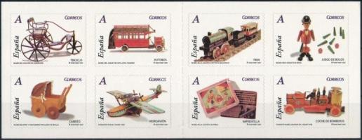 2007 Játékok öntapadós bélyegfüzet MH 0-29 (Mi 4185-4192)