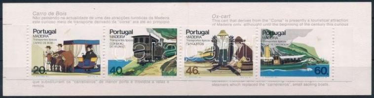 Közlekedés bélyegfüzet, Transport stamp-booklet