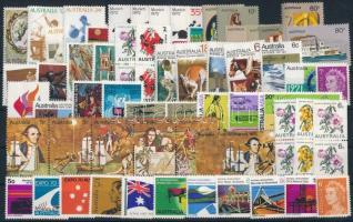 1970-1972 64 stamp with sets, 1970-1972 64 db bélyeg, közte teljes sorok és összefüggések