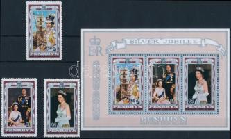 II. Erzsébet sor + blokk, Elizabeth II. set + block