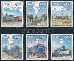 Centenary of Railway in Botswana set 100 éves a botswanai vasút sor