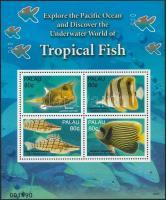 Tropical fish mini sheet Trópusi halak kisív