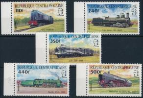 Locomotive margin set Mozdonyok ívszéli sor