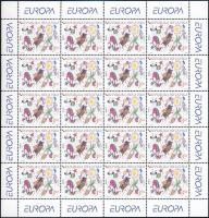 Europa CEPT: Leisure mini sheet set Europa CEPT: Szabadidő kisívsor