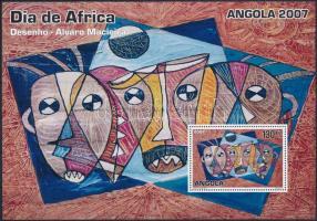2007 Afrika nemzetközi napja blokk Mi 119
