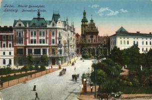 Lviv, Lwów, Lemberg; Kosciol Bernadynski / Kirche / church