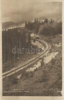 Tátra, Csorba tó fogaskerekű vasút / Zubacka Strbskému Plesu / funicular railway