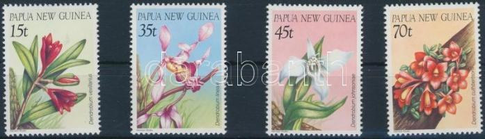 Orchids (III.) set Orchideák (III.) sor