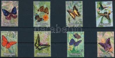 Lepkék sor Butterflies set