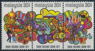Tourism campaign set in stripe of 3, Turizmus kampány sor hármascsíkban