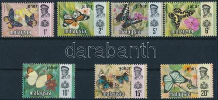 Johore, Butterflies set, Johore, Lepkék sor