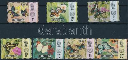 Kedah, Butterflies set, Kedah, Lepkék sor