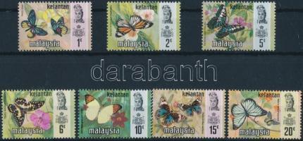 Kelantan, Butterflies set, Kelantan, Lepkék sor