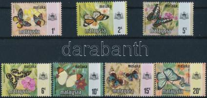 Malakka, Butterflies set, Malakka, Lepkék sor