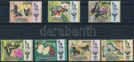 Pahang, Butterflies set, Pahang, Lepkék sor