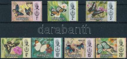 Perak, Butterflies set, Perak, Lepkék sor