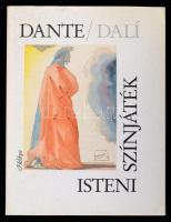 Dante Alighieri: Isteni színjáték. Fordította Babits Mihály. Salvador Dalí illusztrációival. Bp., 1987, Helikon, 317 p. Kiadói bársonykötés, kiadói papírtokban. Jó állapotban.