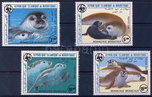 1986 WWF Fókák Mi 871-874