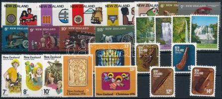 25 klf bélyeg, a teljes évfolyam kiadásai 25 stamps, full year editions