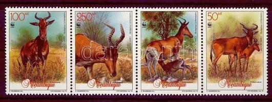 1991 WWF Antilop Mi 1231-1234