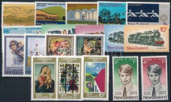 19 stamps, almost full-year editions 19 klf bélyeg, csaknem a teljes évfolyam kiadásai