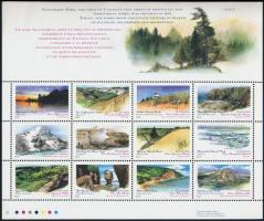 Természetvédelmi területek teljes ív Nature conservation areas complete sheet