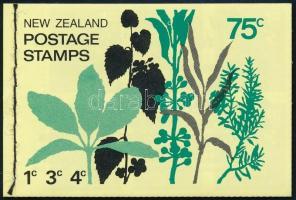 Definitive stamp-booklet with 75c par value, without watermark Forgalmi bélyegfüzet 75c névértékkel, vízjel nélkül