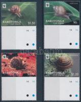 WWF: Snail margin set, WWF: Csiga ívszéli sor